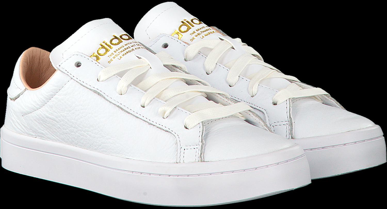 Witte ADIDAS Sneakers COURT VANTAGE DAMES - Omoda.nl