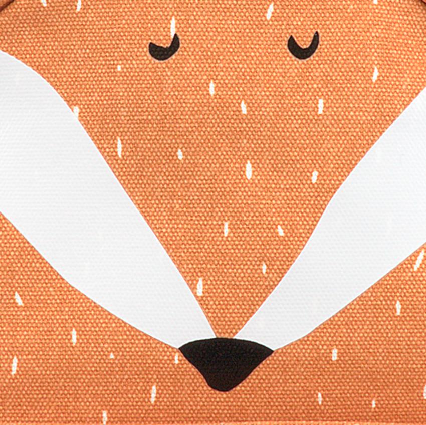 Oranje TRIXIE Rugtas MR. FOX RUGZAKJE  - larger