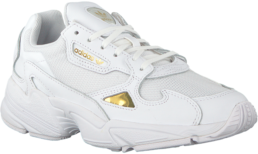Witte ADIDAS Sneakers FALCON WMN   - larger