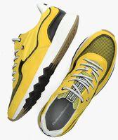 Gele FLORIS VAN BOMMEL Lage sneakers 16392  - medium