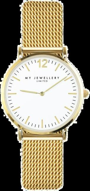 Gouden MY JEWELLERY Horloge WATCH SMALL MESH - large