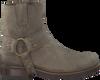 Taupe SENDRA Cowboylaarzen 9077 RONDE LEEST  - small