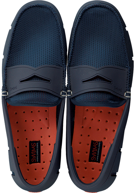 Blauwe SWIMS Loafers PENNY LOAFER  - large