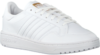 Witte ADIDAS Lage sneakers TEAM COURT J  - medium