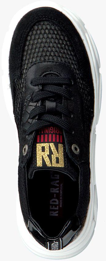 Zwarte RED-RAG Lage sneakers 13044  - larger