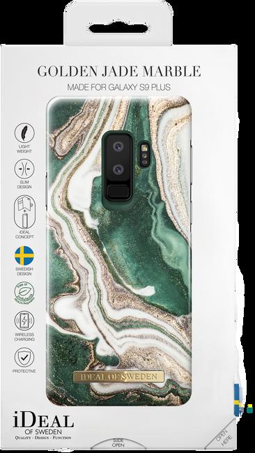 Groene IDEAL OF SWEDEN Telefoonhoesje FASHION CASE GALAXY S9 PLUS - large