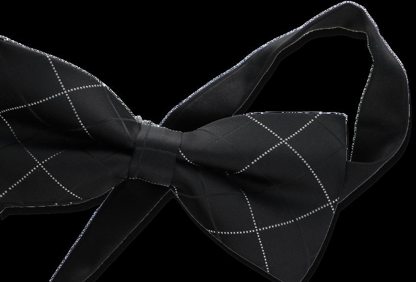 Zwarte TON & TON Vlinderstrik AILO - larger
