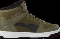 Groene PUMA Hoge sneakers REBOUND LAYUP FUR SD JR - medium
