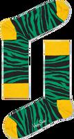 Groene HAPPY SOCKS Sokken ZEBRA - medium