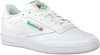 Witte REEBOK Sneakers CLUB C 85 MEN  - small