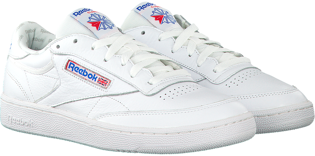 Witte REEBOK Sneakers CLUB C 85 MEN  - large