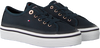 Blauwe TOMMY HILFIGER Sneakers CORPORATE FLATFORM  - small