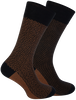 Zwarte MARCMARCS Sokken HERBERT COTTON 2-PACK  - small