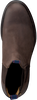 Bruine GANT Enkellaarsjes NOBEL  - small
