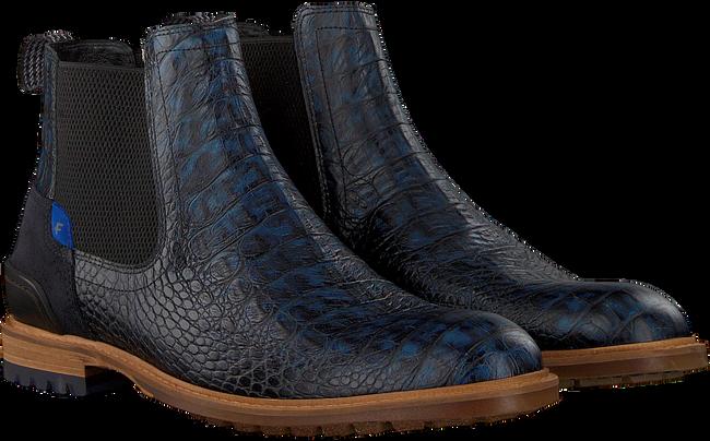 Blauwe FLORIS VAN BOMMEL Chelsea boots 10230 - large