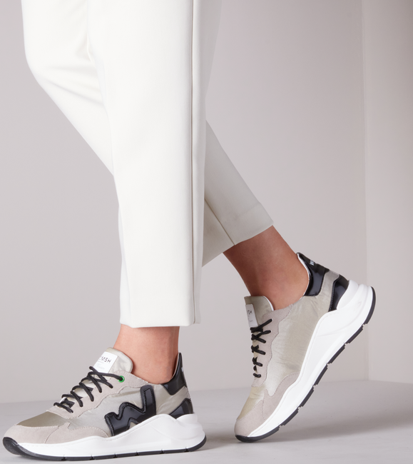 Beige WOMSH Lage sneakers VEGAN WAVE  - large