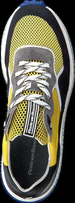 Gele FLORIS VAN BOMMEL Lage sneakers 16301  - large