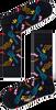 Multi HAPPY SOCKS Sokken GUITARRA SOCK - small