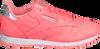 Roze REEBOK Sneakers CL LEATHER KIDS  - small