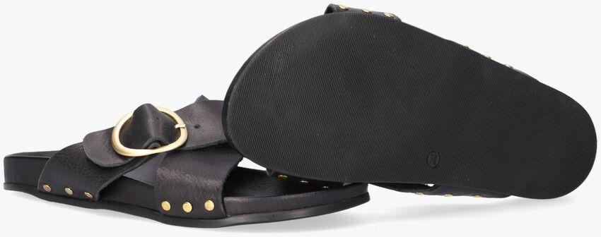 Zwarte NOTRE-V Slippers 10318  - larger