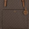 Bruine MICHAEL KORS Shopper LG TZ SNAP PCKT TOTE - small