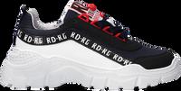 Blauwe RED-RAG Lage sneakers 13035  - medium