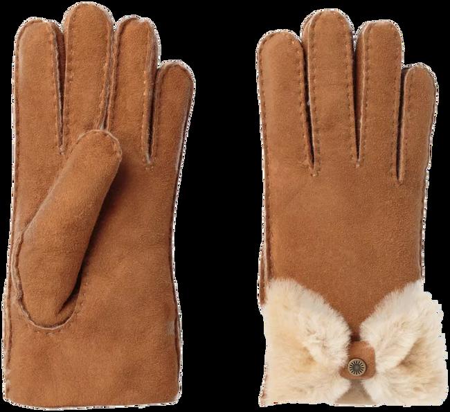 Cognac UGG Handschoenen BOW GLOVE - large
