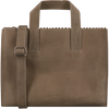 Taupe MYOMY Handtas MY PAPER BAG HANDBAG CROSSBODY - small