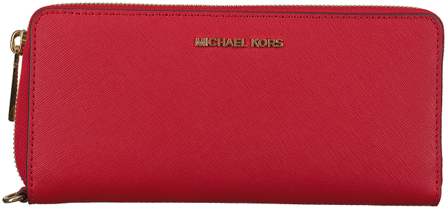 Rode MICHAEL KORS Portemonnee TRAVEL CONTINENTAL - large