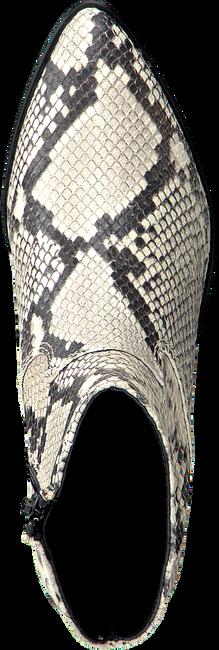 Witte DEABUSED Enkellaarsjes 7434  - large