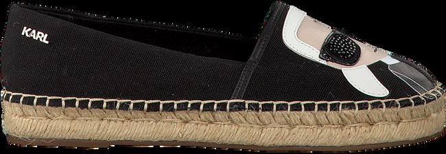 Zwarte KARL LAGERFELD Espadrilles KL80111 - large