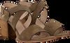 Taupe NOTRE-V Sandalen 4611  - small