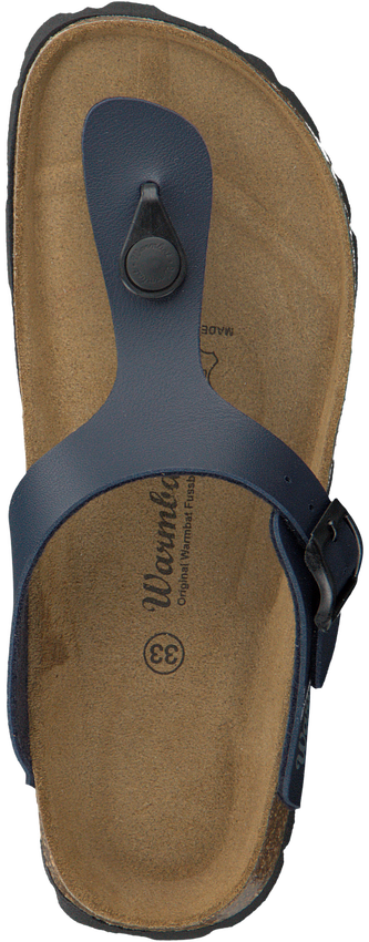 Blauwe WARMBAT Slippers 081503  - larger