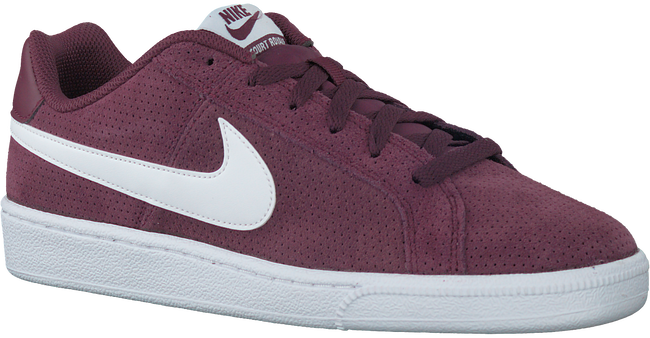 Rode NIKE Sneakers COURT ROYALE SUEDE MEN  - large