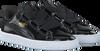 Zwarte PUMA Sneakers BASKET HEART PATENT  - small