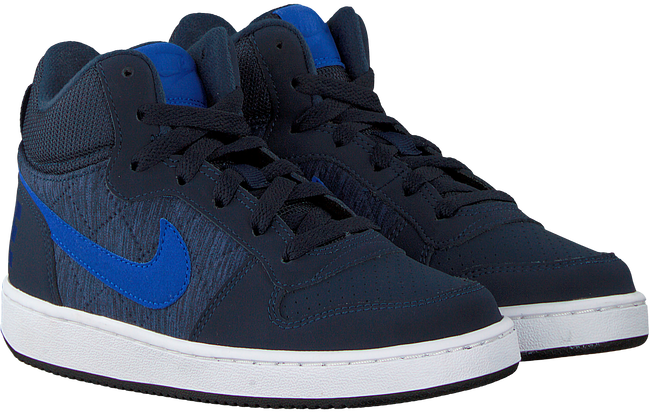 Blauwe NIKE Sneakers COURT BOROUGH MID (KIDS) - large