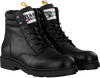 Zwarte TOMMY HILFIGER Veterboots CASUAL BOOT  - small