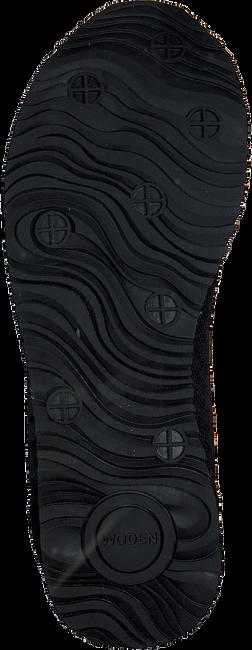 Zwarte WODEN Sneakers YDUN SUEDE MESH  - large