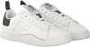 Witte DIESEL Sneakers S-CLEVER LOW WOMEN - small