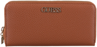 Cognac GUESS Portemonnee ALBY SLG LARGE ZIP AROUND  - medium