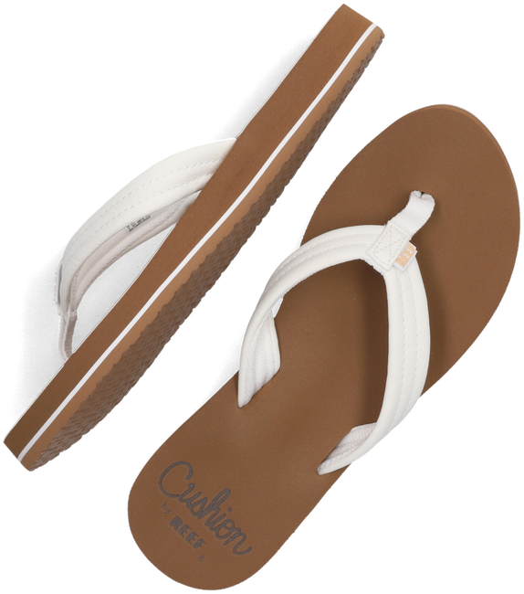 Witte REEF Teenslippers CUSHION BREEZE  - large