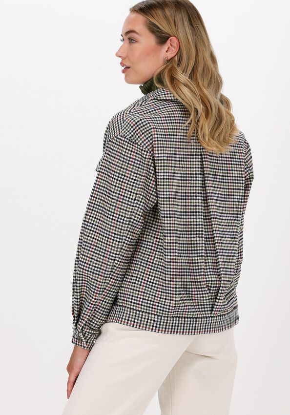 Beige TOMMY JEANS Blouse TJW MINI CHECK OVERSHIRT - larger