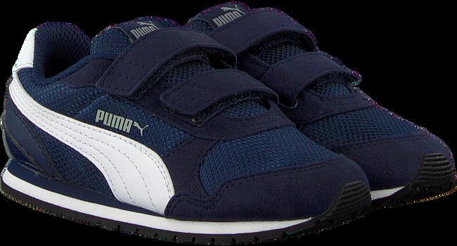 Blauwe PUMA Sneakers ST RUNNER V2 MESH  - large