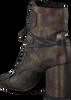 Bronzen LOLA CRUZ Enkellaarsjes BOTIN MILITAR EN PIEL T.90  - small