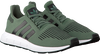 Groene ADIDAS Sneakers SWIFT RUN HEREN  - small