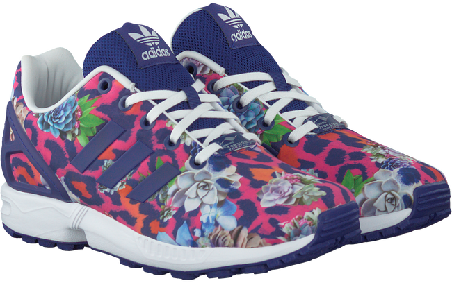 Paarse ADIDAS Sneakers ZX FLUX KIDS  - large