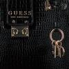 Zwarte GUESS Handtas CLEO GIRLFRIEND SATCHEL  - small