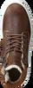 Cognac OMODA Hoge sneaker O2586  - small