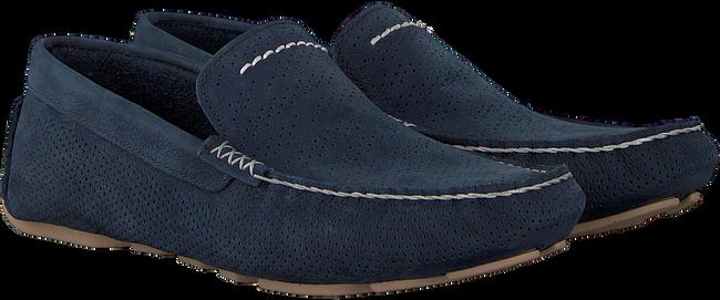 blauwe UGG Mocassins HENRICK STRIPE PERF  - large