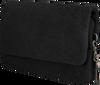 Zwarte LOULOU Essentiels Clutch LOVELY LEOPARD - small